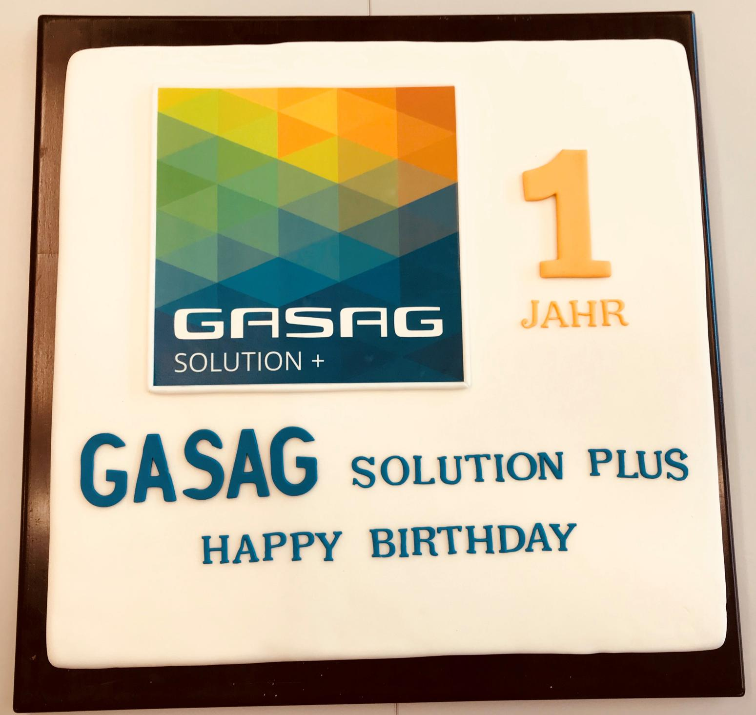 Happy 1st Birthday GASAG Solution Plus
